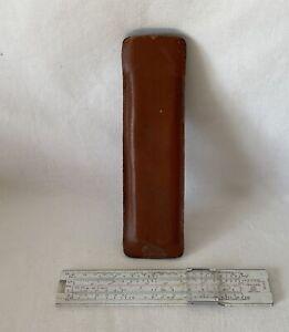 Vintage Small, BRL Exide Slide Rule Made in England
