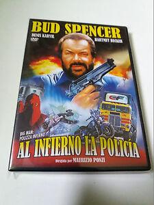 DVD-034-AL-INFIERNO-LA-POLICIA-034-BUD-SPENCER-MAURIZIO-PONZI-BIG-MAN-POLIZZA-INFERNO