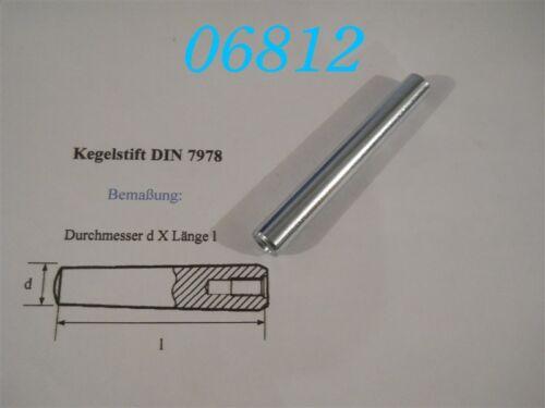 DIN 7978 KEGELSTIFT 12 x 100 mm
