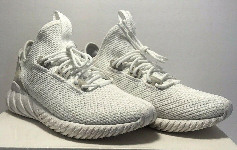 Adidas Womens Size 7 Tubular Doom Sock Pk Originals White Running shoes New