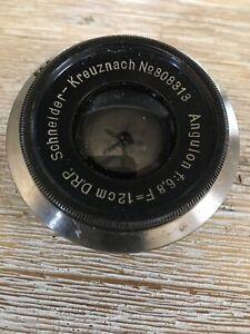 Angulon-F-6-8-12cm-Drp-Schneider-Kreuznach-No-908313-Lens