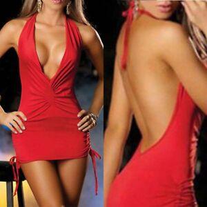 Bodycon-Backless-Sexy-Women-Night-Clubwear-Plunge-Party-Short-Mini-Dress