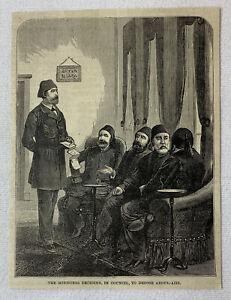 1885-Revista-Grabado-Ministers-Deciding-a-Depose-Abdul-Aziz-Turquia