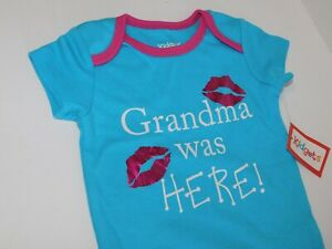 Girl-Infant-0-3-6-9-Month-Grandma-Was-Here-Outfit-Clothes-One-Piece-Creeper