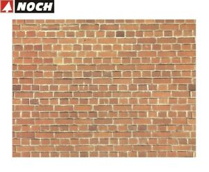 NOCH-H0-Tt-57730-Wall-Panel-034-Brick-034-64-X-15-CM-1-M-New