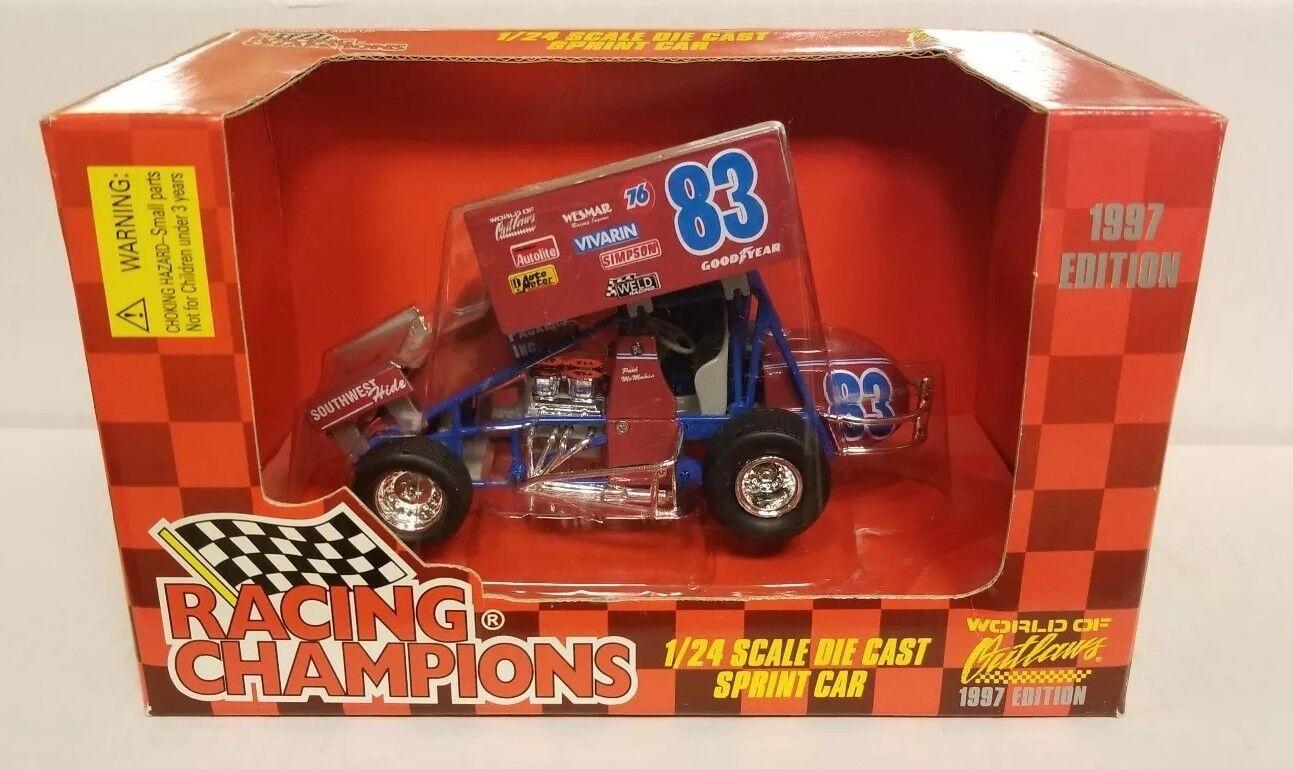 1997 Racing Racing Racing Champions Sprint Car 1 24 scale Paul Mahan 842c0b