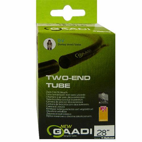 "2x GAADI offener Fahrrad Schlauch 28/"" BOX 40-47//622-635 DV-40mm"