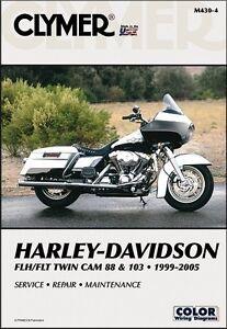 1999 2005 harley davidson fl road king electra glide clymer repair rh ebay com 1977 Harley-Davidson FLH 1987 Harley-Davidson Electra Glide