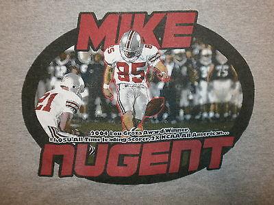Mike Nugent Ohio State T Shirt Buckeyes Football Kicker All Time Leading Scorer Ebay