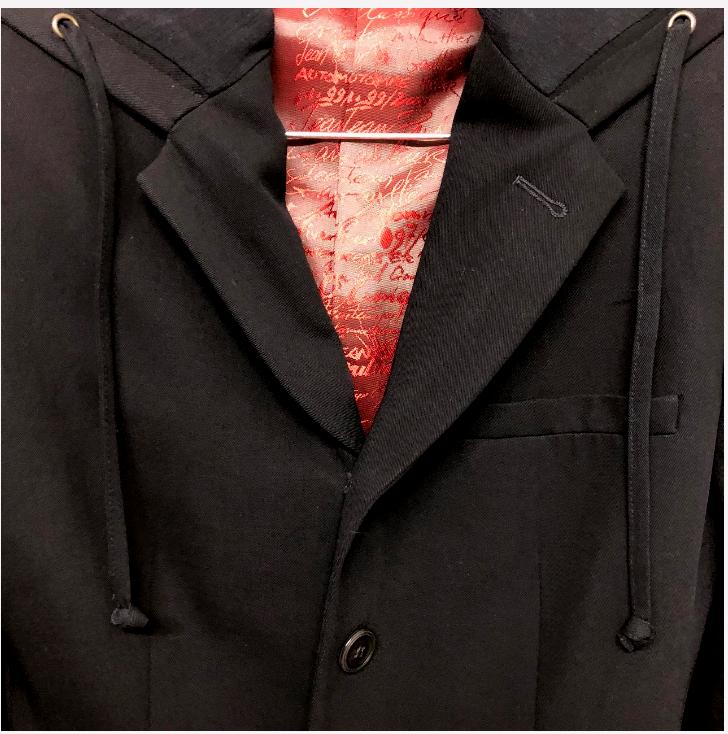Jean Paul Gaultier  Negro Chaqueta con Capucha-Talla 6 para Mujer  autorización oficial