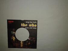 "The Who – Long Live Rock – Copertina Forata Per Disco Vinile 45 Giri 7"" ITALIA"
