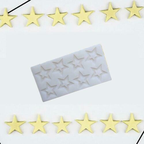 Details about  /Mould Chocolate plug mould Cake mould Non-toxic Baking high quality Pentagram N3