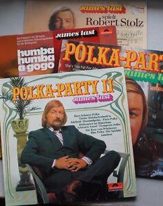 4 LP's James Last, Polkaparty, Robert Stolz, Humba humba a gogo - Deutschland - 4 LP's James Last, Polkaparty, Robert Stolz, Humba humba a gogo - Deutschland