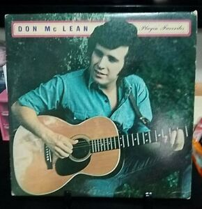 DON-McLEAN-Playin-Favorites-Album-Released-1973-Record-Vinyl-Collection-USA