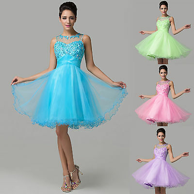 2015 Prom Party dress Evening Homecoming Dresses bridesmaid Wedding Short Dress