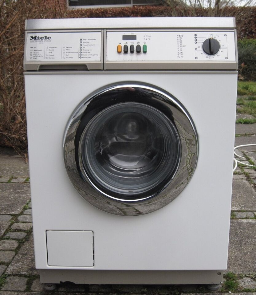 Miele vaskemaskine, tilbehør