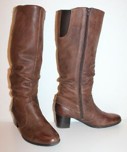 new product cc793 6c7f6 Details zu SIOUX SACCHETTO LEDER STIEFEL cognac braun 39 UK5.5 LEATHER  BOOTS BIKER Style