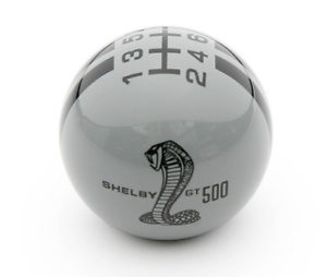 Shelby-GT500-Shifter-Knob-Grey-With-Black