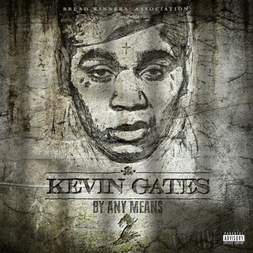 Kevin Gates By Any Means 2 Album Hip Hop Rap Art Cover Poster 20×20 24×24 32×32/""
