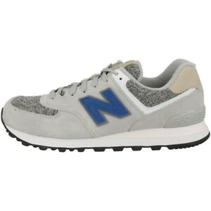NEW BALANCE ML574 VAH Scarpe ARGENTO VISONE INCENSE Blue ml574vah