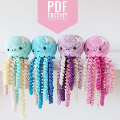 Ravelry: Mini Amigurumi Octopus pattern by Sarah Hearn | 399x400