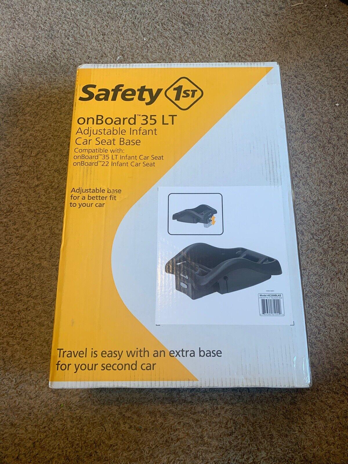 Safety 1st Onboard 35 Lt Adjustable Infant Car Seat Base