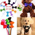 2*Fashion Dog Cat Pet Puppy Toy Kid Cute Bow Tie Necktie Collar Clothes Cute