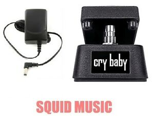 Jim-Dunlop-Cry-Baby-Mini-Wah-Pedal-CBM95-Half-Size-FREE-ADAPTER-POWER-SUPPLY