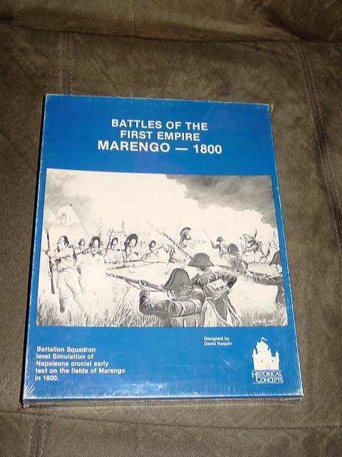 Historical Concept jeux-Bataille du premier empire-Marengo 1800 (Comme neuf)