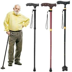 Nonslip-Mobility-Walking-Stick-with-light-Folding-Height-Adjustable-Metal-Cane