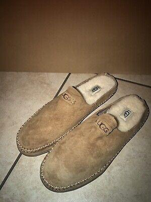 dc560a67f31 UGG Tamara 1019249 Size 9M Chestnut Leather Slip On Slipper / Shoes ...