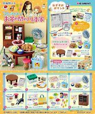 Re-Ment Miniature Living Room of Kawamoto Family Full set of 8 pcs