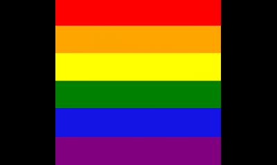 """Rainbow Lgbt Bandana 21 X 21"""" - Gay Pride Festival Headwear Festa Celebrazione-"""