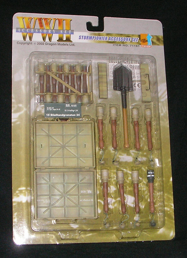 DRAGON 1 6 SCALE WW II GERMAN STURMPIONIER ACCESSORY SET - Item No 71161