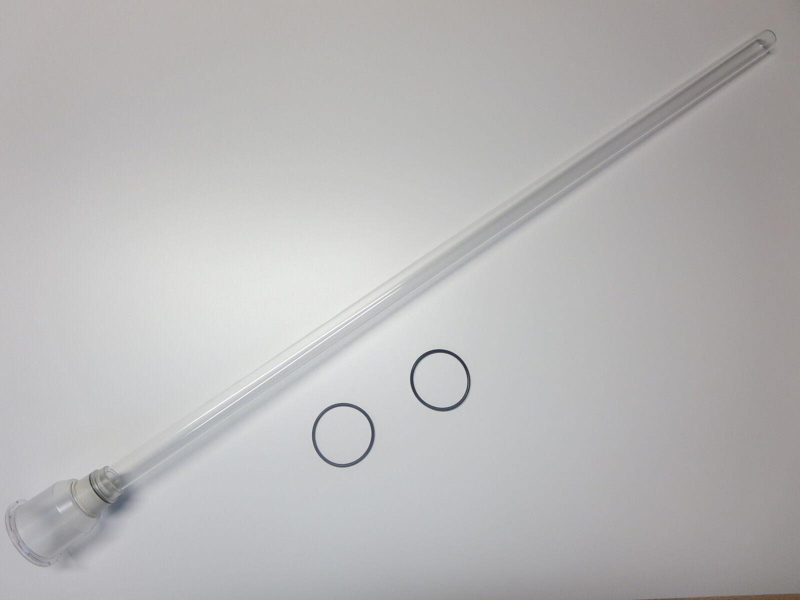 Vetro Quarzo per 40 75 Watt UVC Koi POWER TECH blu Lagoon Pro Jumbo UV vetro di ricambio