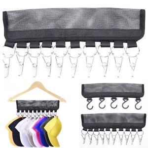 24fc61ea27a Portable Cap Rack Closet Hanger Storage Caps Organizer Door Baseball ...