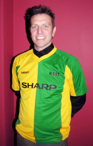 MUST Green and Gold Sharp Football Shirt