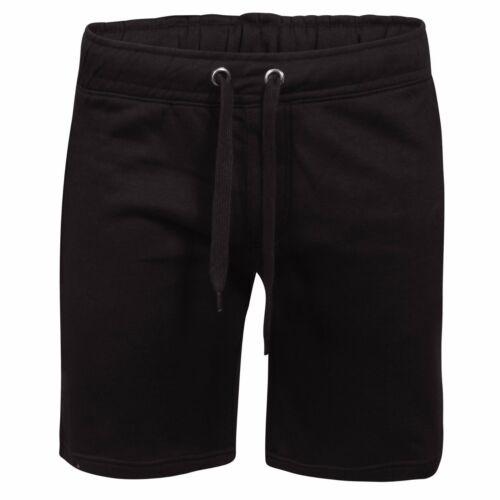 Men/'s Plain Palestra in pile Jogger elasticizzato HOLIDAY in esecuzione Pantaloncini Tasche Con Zip