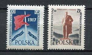 35641) Poland 1957 MNH 40th Anniv. of The Russian Revolution