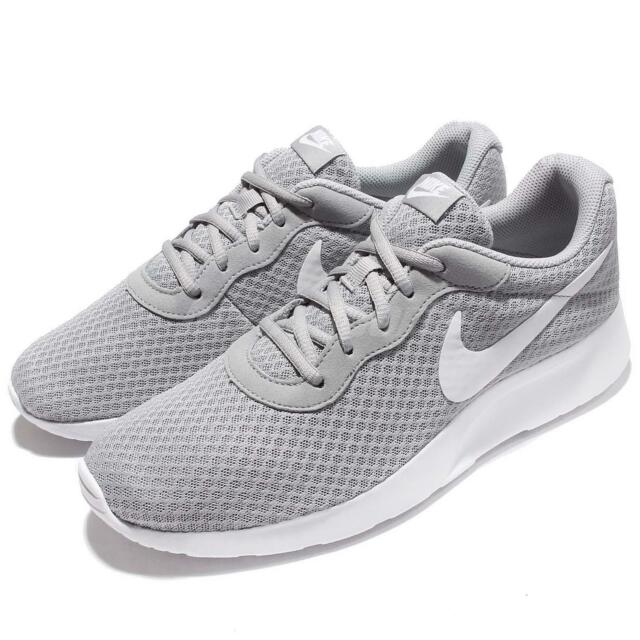 8ec011573c Nike Tanjun Running Shoes Trainers Grey White 812654-010 Rosherun ...