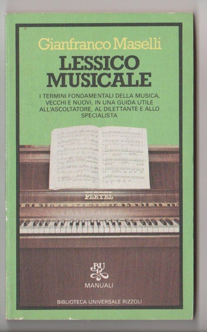 Lessico Musicale