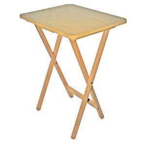 Pliante-En-Bois-Tv-Table-Bureau-Cote-Petit-Voyage-Tablette-D-039-Ordinateur-Portable