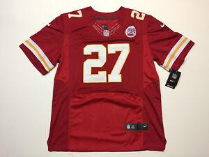 brand new de2ac 9973e Details about Kareem Hunt #27 Kansas City Chiefs Men's Red Game Jersey  (Brand New)