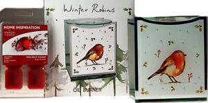 Robin-Oil-Burner-And-Yankee-Candle-Wax-Melts-Holiday-Magic