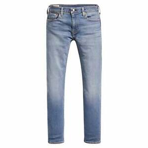 Levi/'s 502 Regular Tapered Cedar Light Blue Mid Wash Denim Jeans 29507 0514