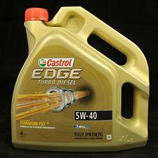 CASTROL Edge Titanio Fst 5w-40 TURBO DIESEL 4 LITRI