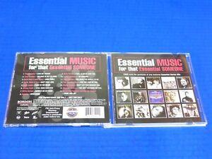 Essential-Music-CD-Rare-Promo-Only-Elvis-Johnny-Cash-Janis-Joplin-Stevie-Ray
