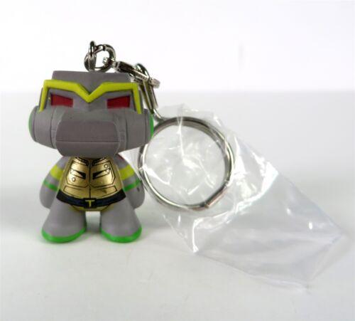 Kidrobot TMNT Shell Shock Vinyl Keychain Series Metal Head Figure NEW