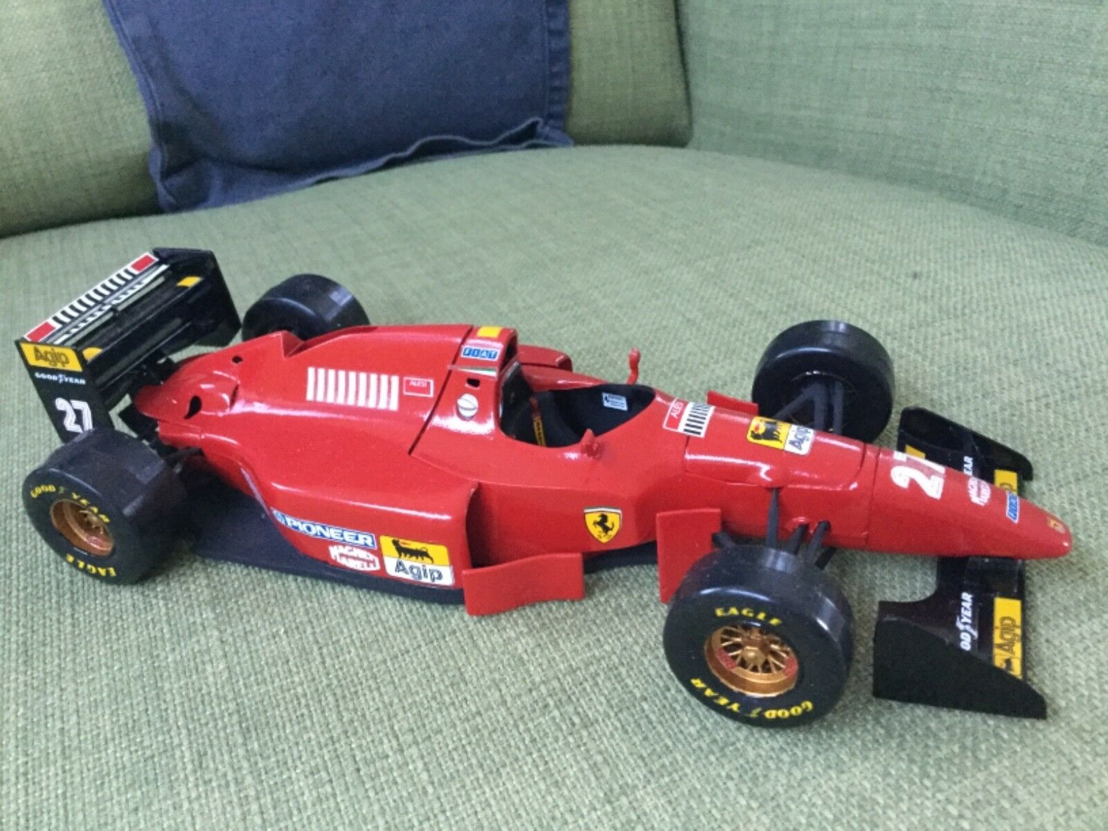 Ferrari alesi Kit montato 1 24