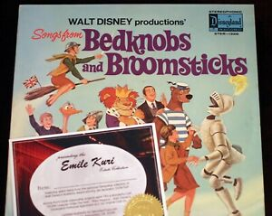 EMILE-KURI-Estate-Disney-Legend-Disneyland-Record-Bedknobs-and-Broomsticks